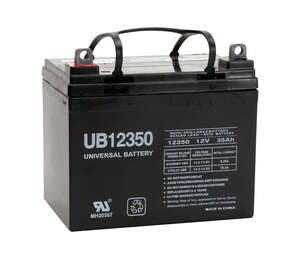 Universal Power Group  UB12350  35 amps Lead Acid Automotive Battery