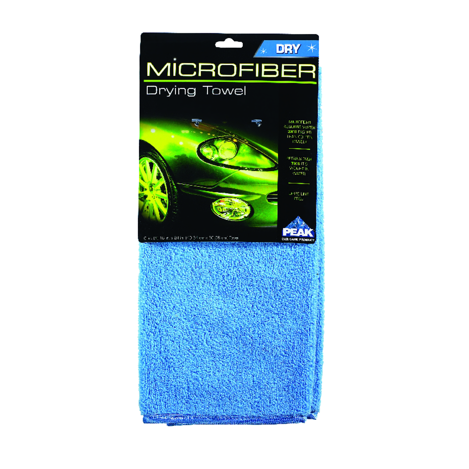 Peak  Cotton/Polyester  Drying Towel  24 in. L x 16 in. W 1 pk