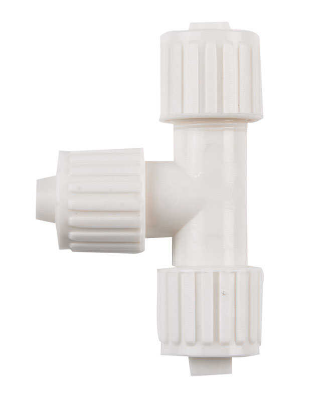 Flair-It  3/8 in. PEX   x 3/8 in. Dia. PEX  PVC  Tee
