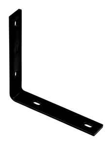 National Hardware  8-1/4 in. H x 1-1/2 in. W x 1/4 in. D Steel  Inside  Corner Brace