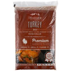 Traeger All Natural Turkey Blend Hardwood Pellets 20 lb.