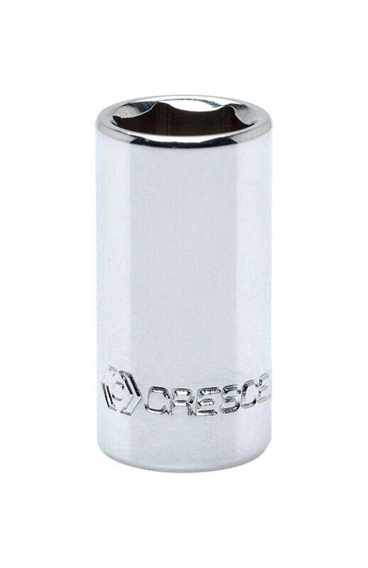 Crescent 7/32 in. x 1/4 in. drive SAE 6 Point Standard Socket 1 pc.
