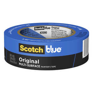 3M  Scotch Blue  60 yd. L x 1.41 in. W Blue  Medium Strength  1 pk Painter's Tape