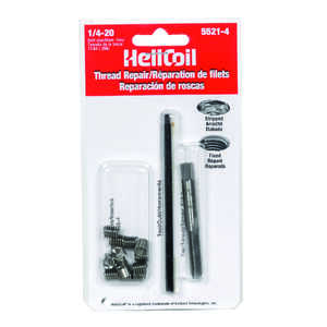 Heli-Coil  0.3 in. Stainless Steel  Thread Repair Kit