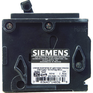 Siemens  HomeLine  20 amps Double Pole  2  Circuit Breaker