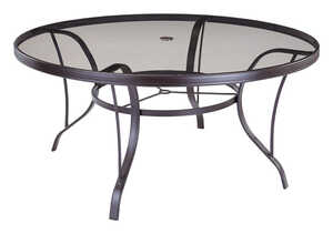 Living Accents  Black  Newport  Dining Table  Round