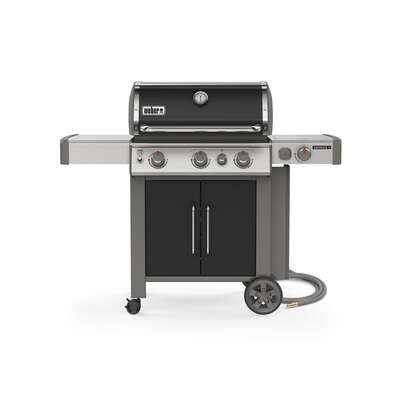 Weber Genesis II E-335 3 burner Natural Gas Grill Black
