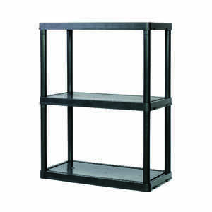Maxit  24 in. W x 12 in. D x 33 in. H Resin  Shelving Unit