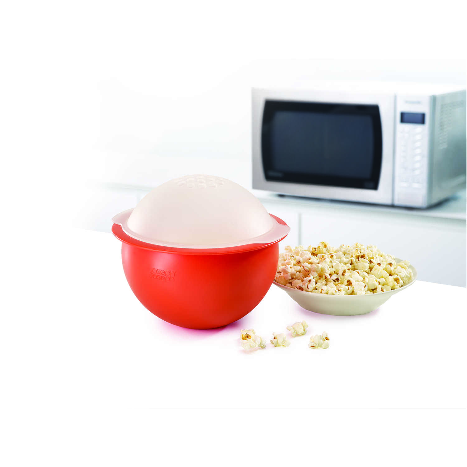 Joseph Joseph  M-Cuisine  Orange  Air  Microwave Popcorn Popper