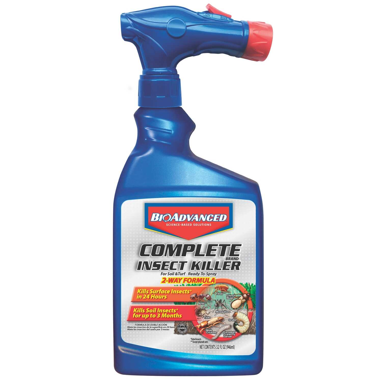 BioAdvanced  Insect Killer for Lawns  32 oz.