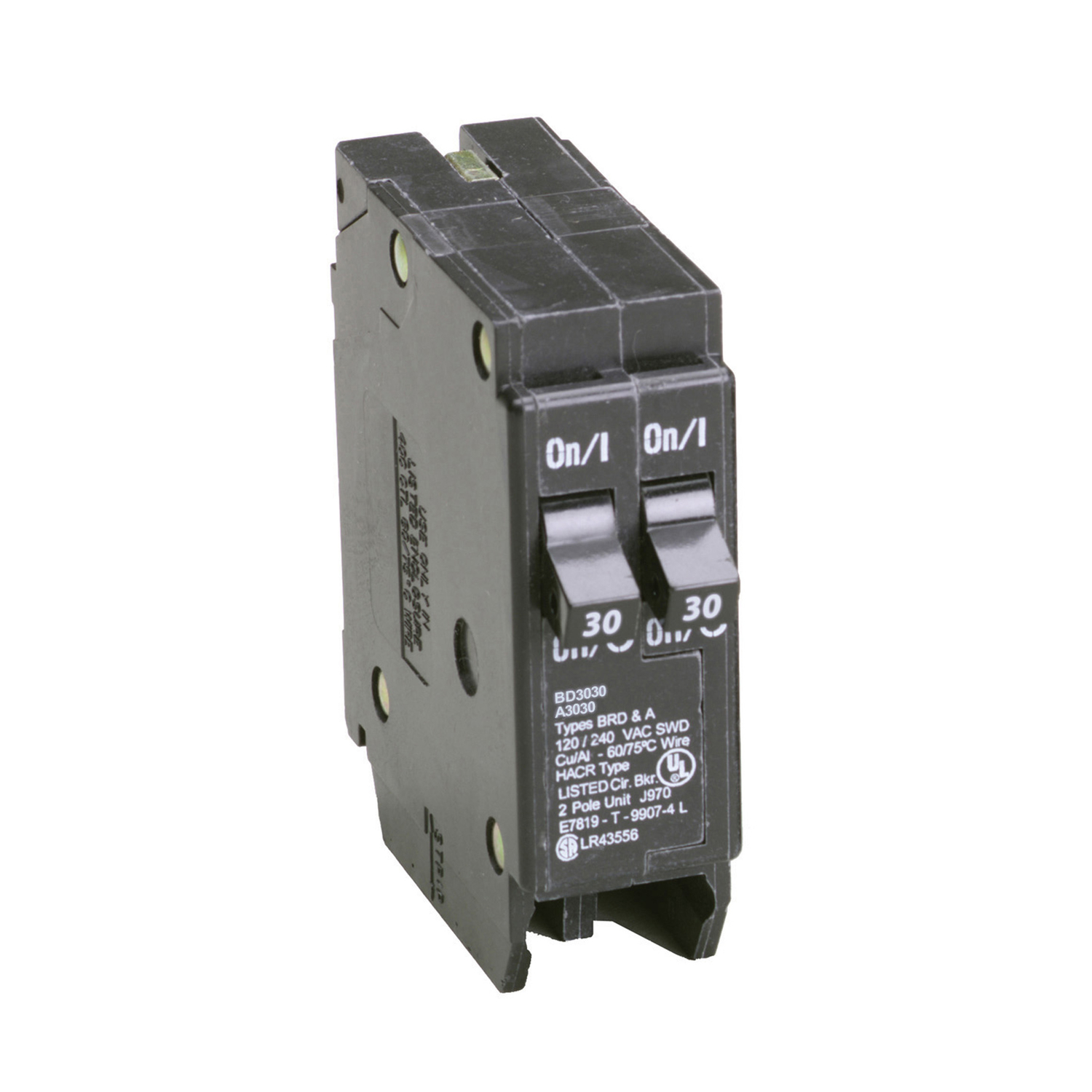 Cooper Wiring Devices 30 Amp Double Pole Circuit Breaker From Farm ...