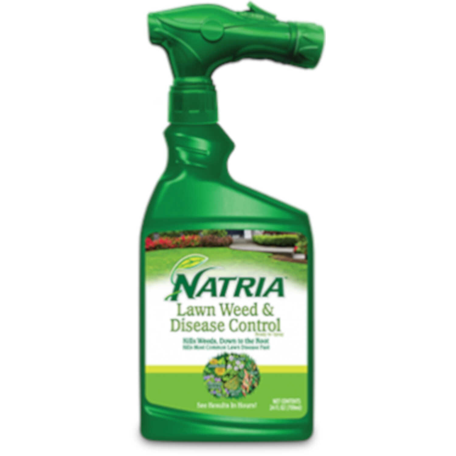 Bayer Advanced  Natria  RTS Hose-End Concentrate  Lawn Weed + Disease Control  24 oz.