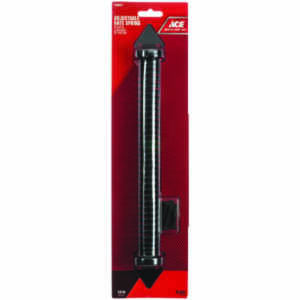 Ace  14 in. Dia. x 1.65 in. L Black  Steel  Gate Spring