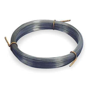 K&S  0.032 in. Dia. x 36 in. L 20 Ga. Steel  Music Wire