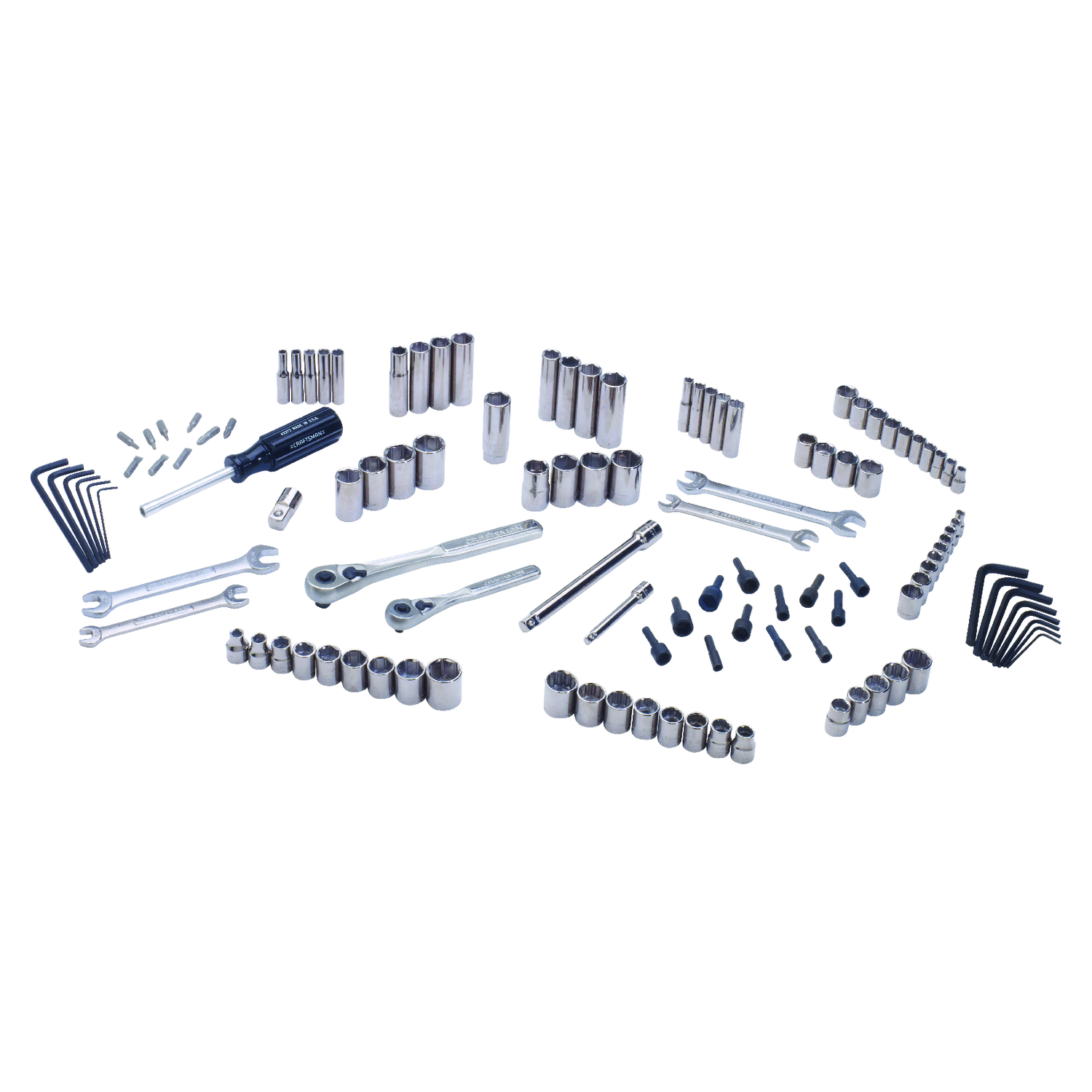 Craftsman  1/4 in.  x 3/8 in. drive  Metric  6 Point Mechanic�s Tool Set  117 pc.