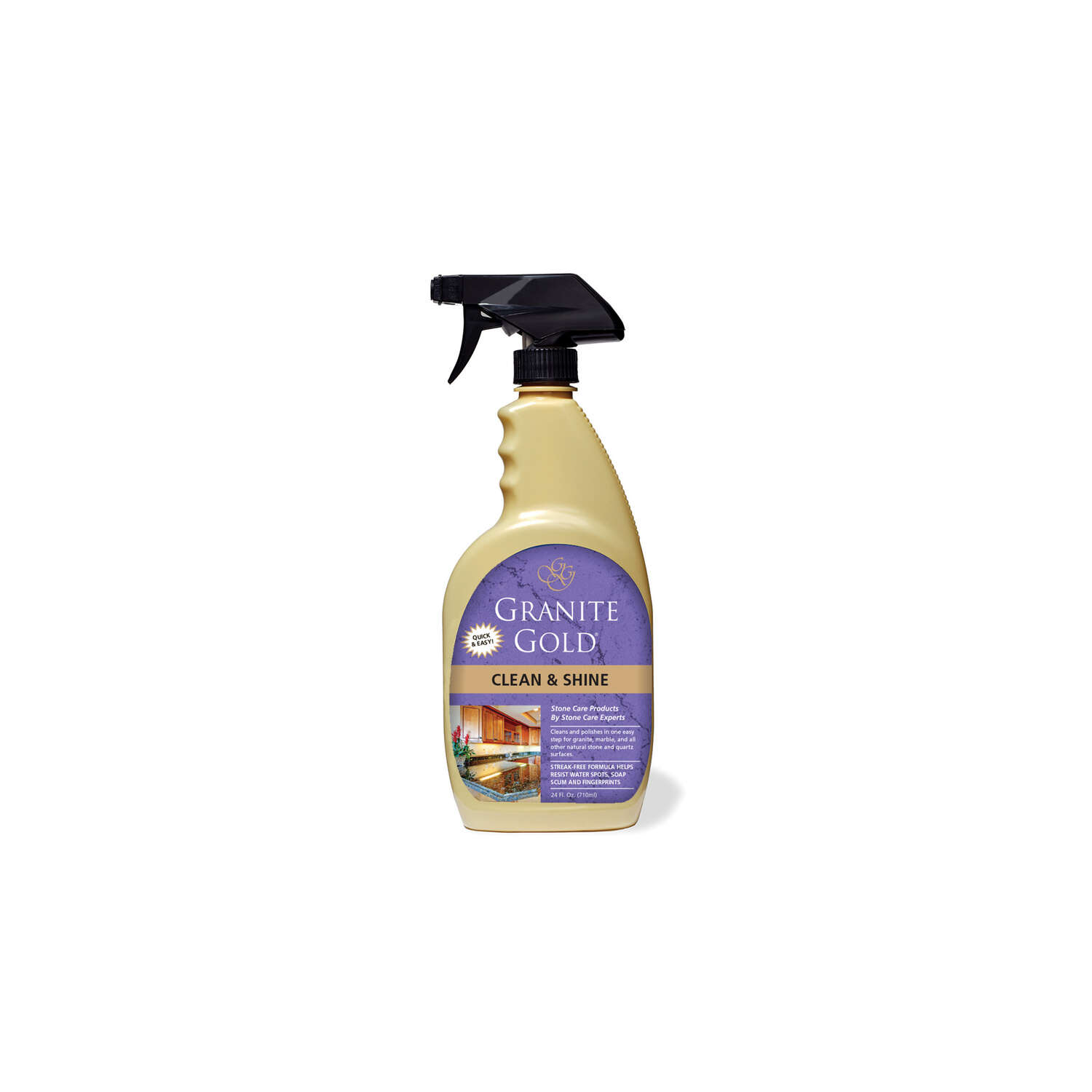 Granite Gold  Citrus Scent Granite Cleaner and Polish  24 oz. Liquid