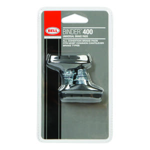 Bell Sports  Binder 400  Synthetic Compounds  Bike Brake Pads  Black
