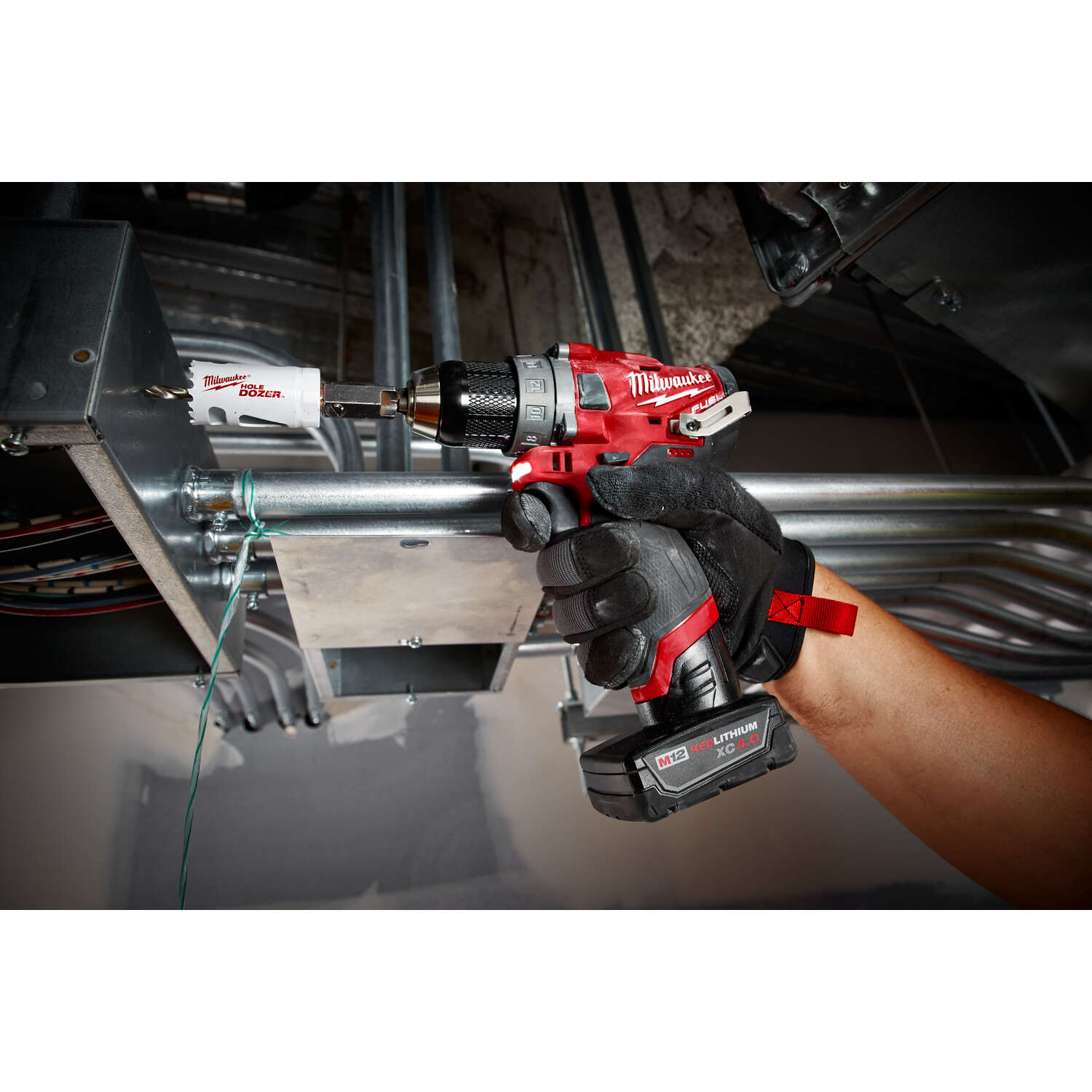 Milwaukee  M12 FUEL  12 volt 1/2 in. Brushless Cordless Drill/Driver  Kit 1700 rpm 2 speed