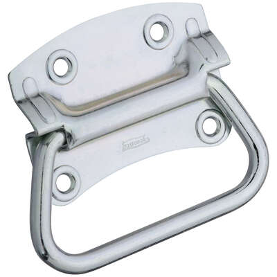 National Hardware Chest Handle Zinc-Plated Steel 4 in. 1 pk Chest Handle
