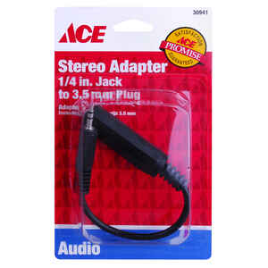 Ace  Audio Plug  1 pk