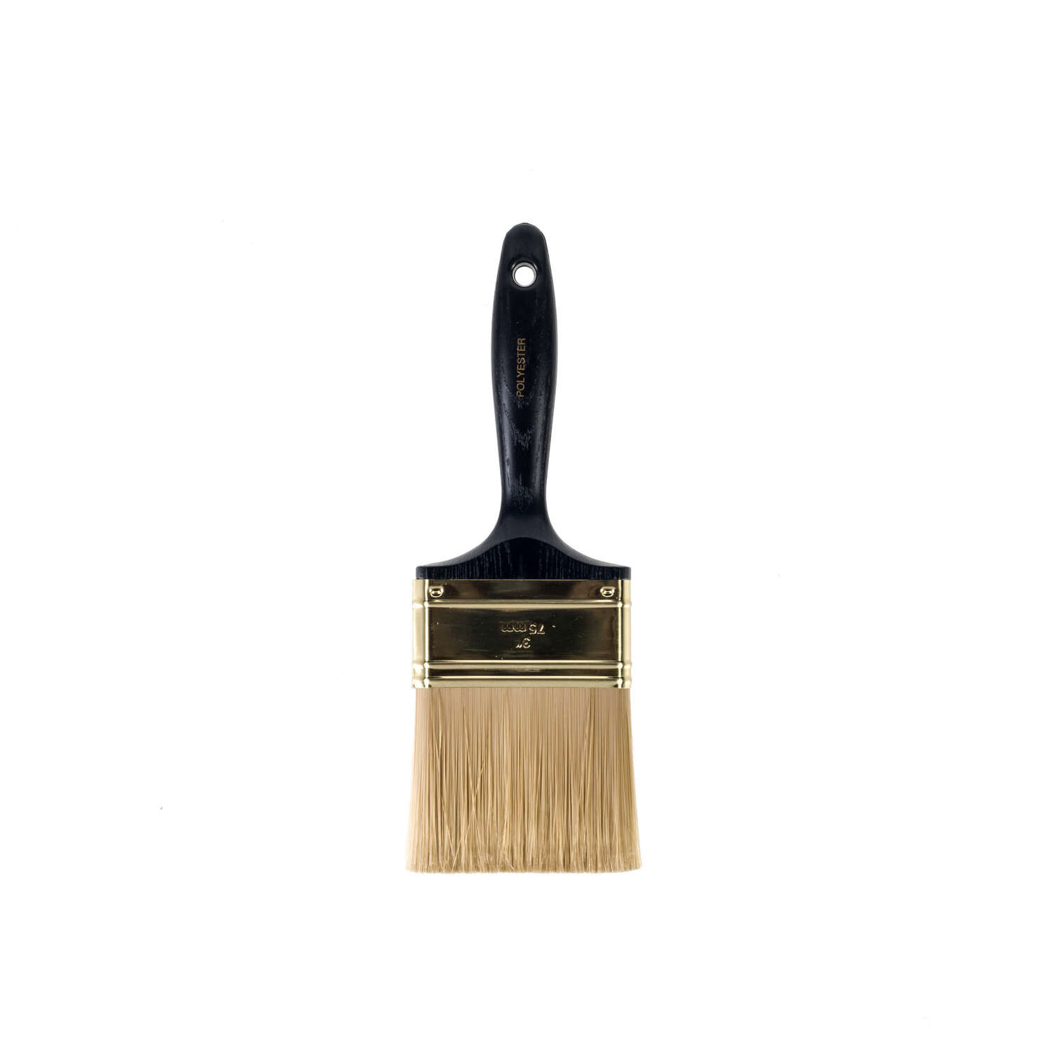 Wooster  3 in. W Polyester  Flat  Paint Brush