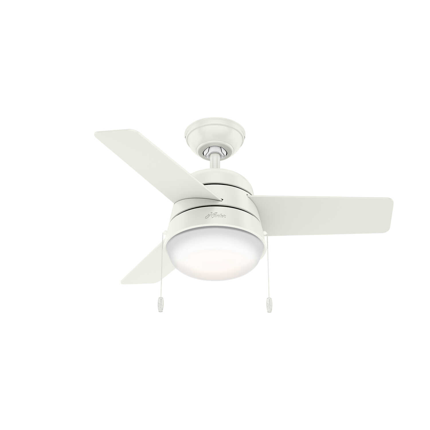 Hunter Fan  36 in. 3 blade Indoor  White  Ceiling Fan