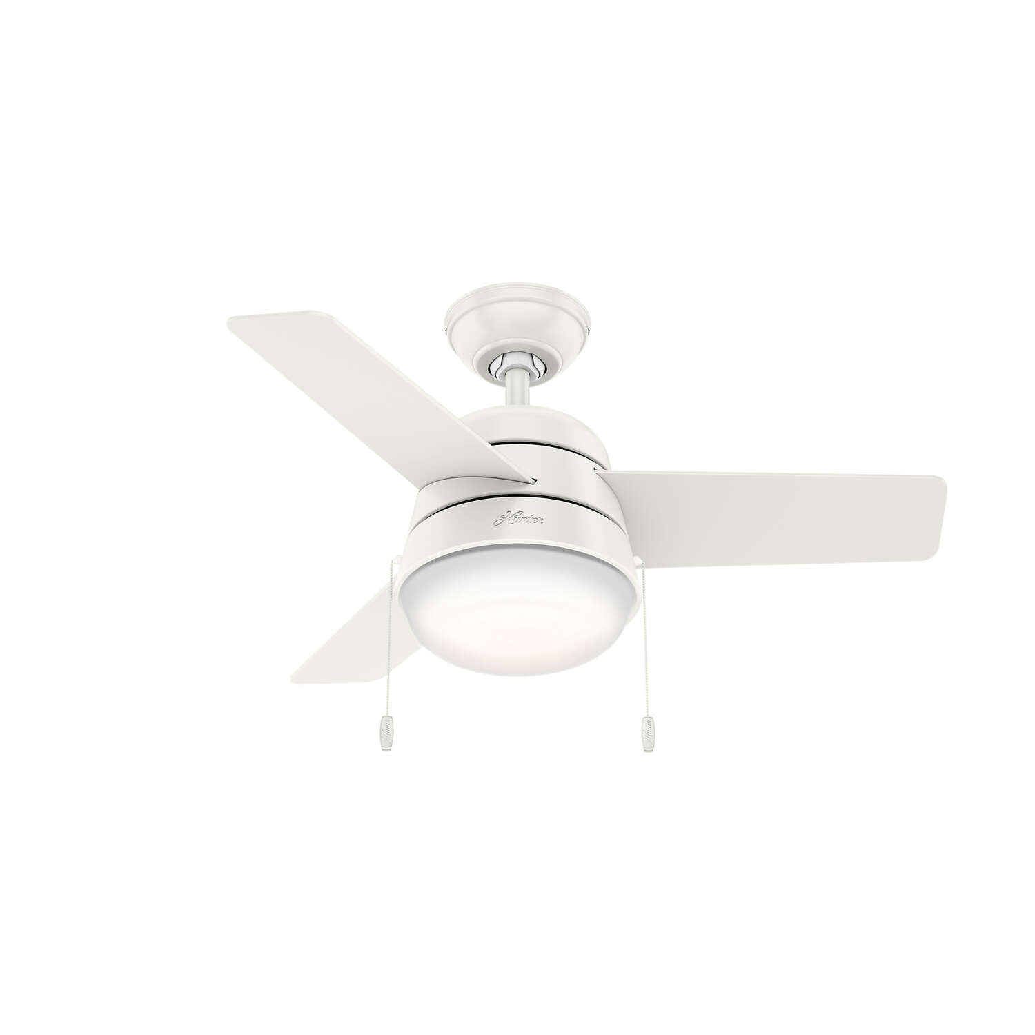 Hunter Fan  Aker  36 in. White  Indoor  Ceiling Fan