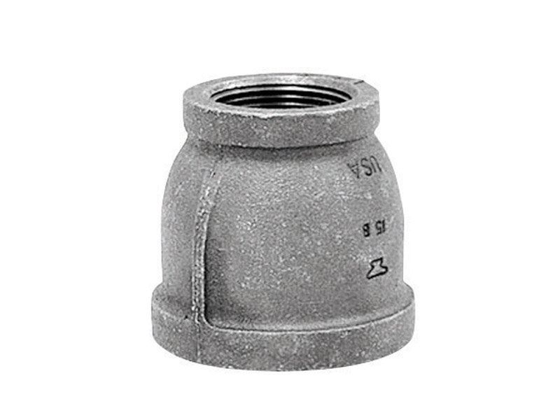 Anvil  3/4 in. FPT   x 1/2 in. Dia. FPT  Galvanized  Malleable Iron  Reducing Coupling