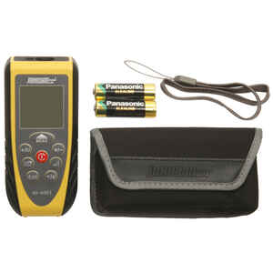 Johnson  4-3/4 in. L x 8-3/8 in. W Laser Measure