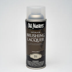 Old Masters Gloss Clear Oil-Based Brushing Lacquer 12.8 oz.