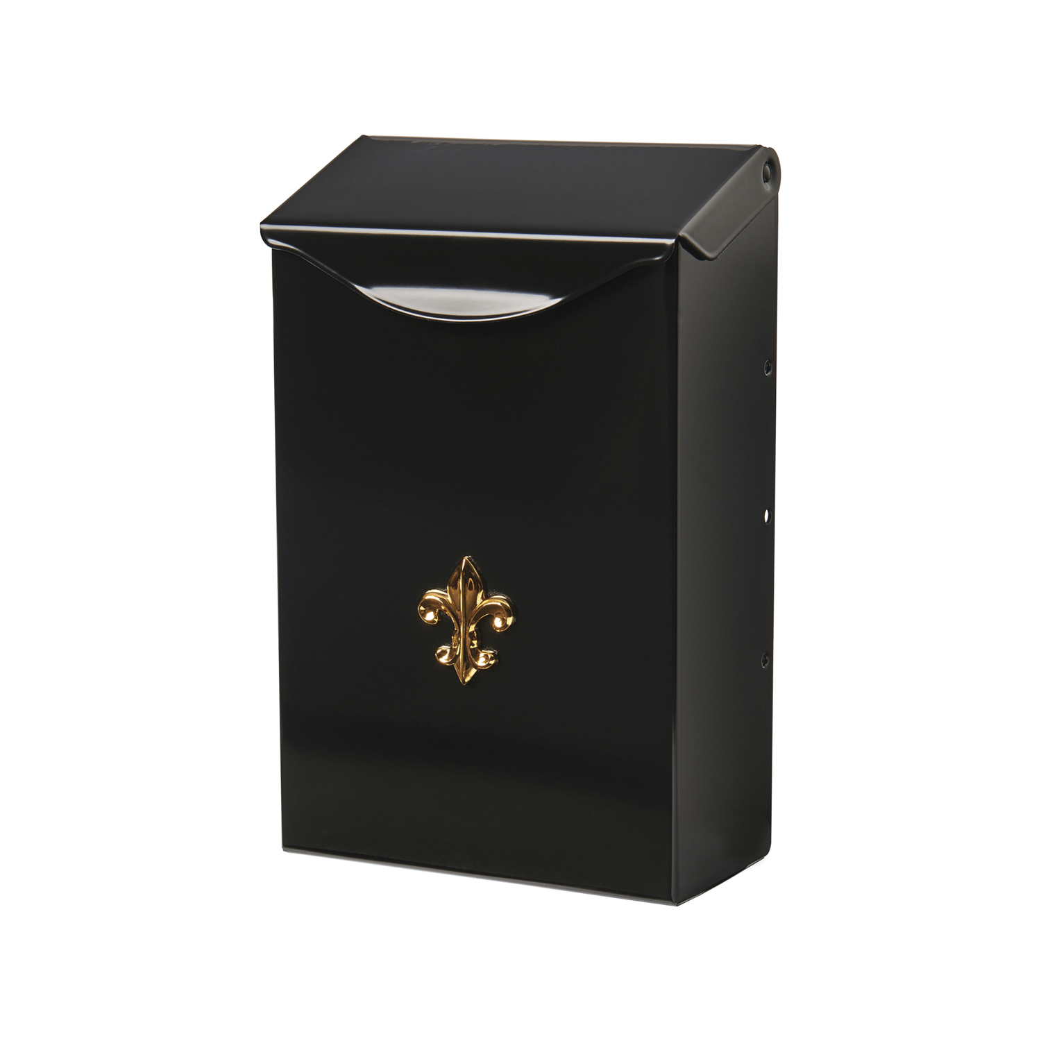 Gibraltar Mailboxes  Gibraltar  City Classic  Wall-Mounted  Black  3-1/4 in. W x 6-1/4 in. L x 6-1/4