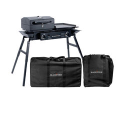 Blackstone  Tailgater Combo  Black  Grill Cover/Carry Bag