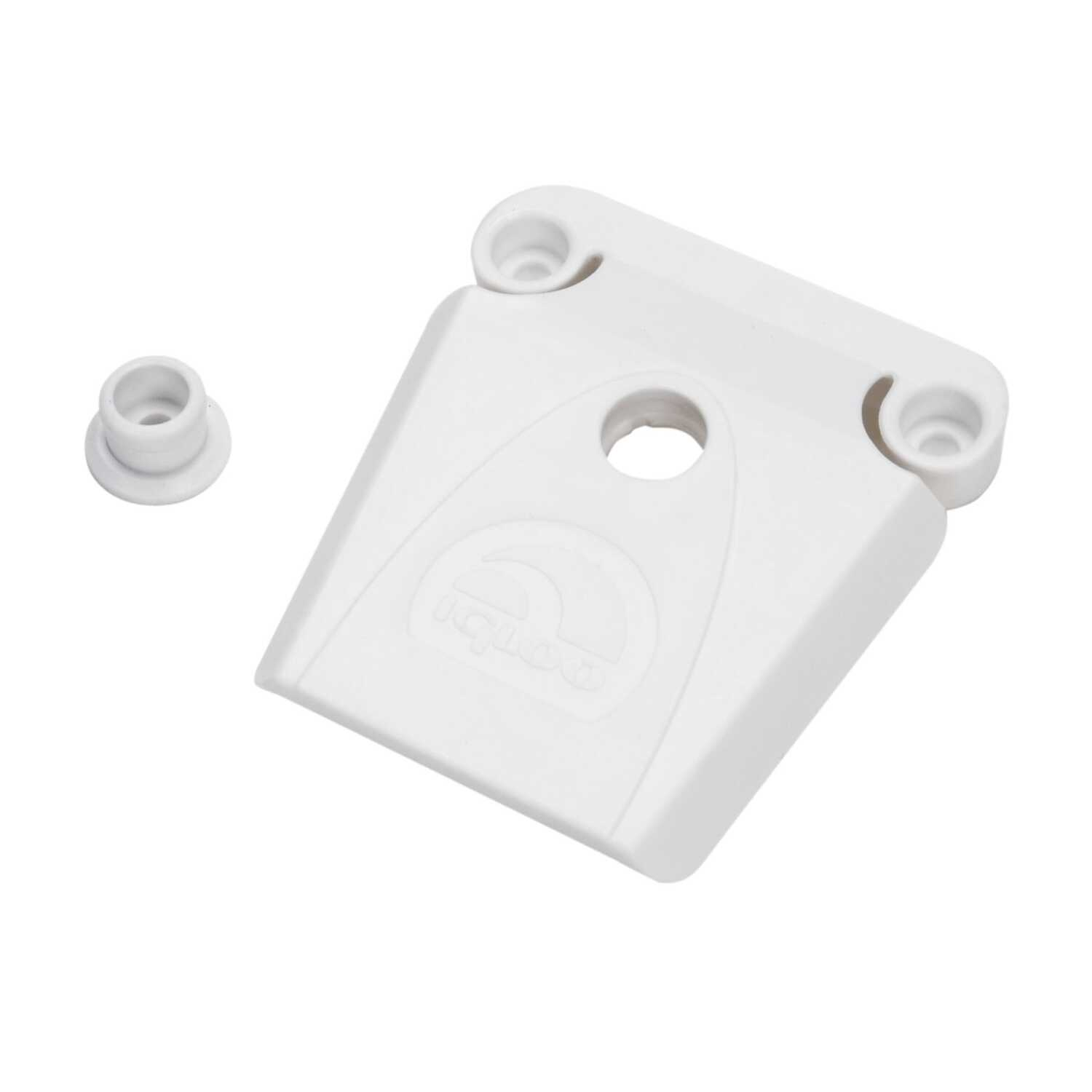Igloo  Latch  50-165  White  1 pk