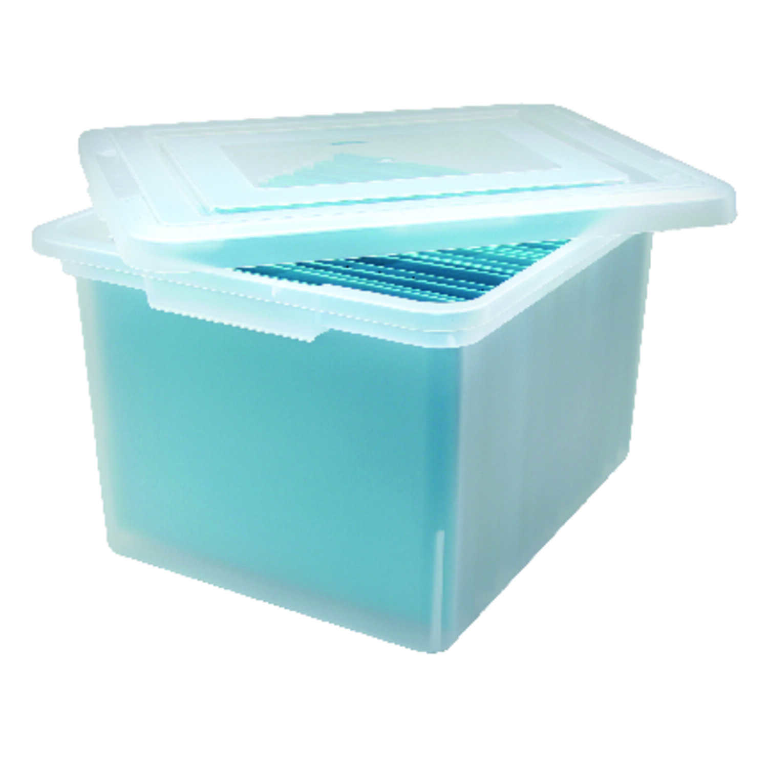 Iris  10.8 in. H x 18 in. W x 14.3 in. D Stackable Storage Box
