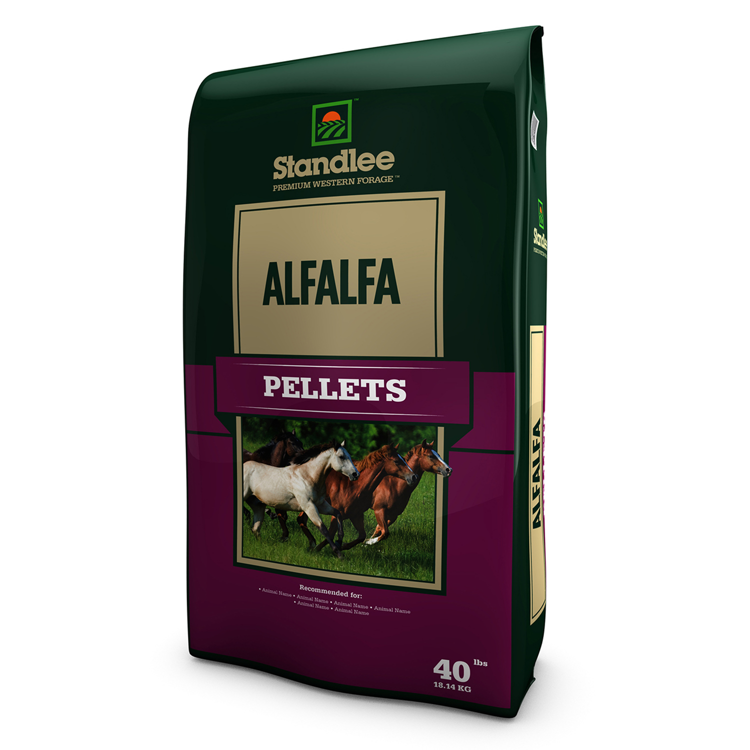 Standlee Premium Western Forage  Alfalfa  Pellets  For Horses 40 lb.