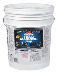 Ace  Premium  White  Field Marking Paint  5 gal.