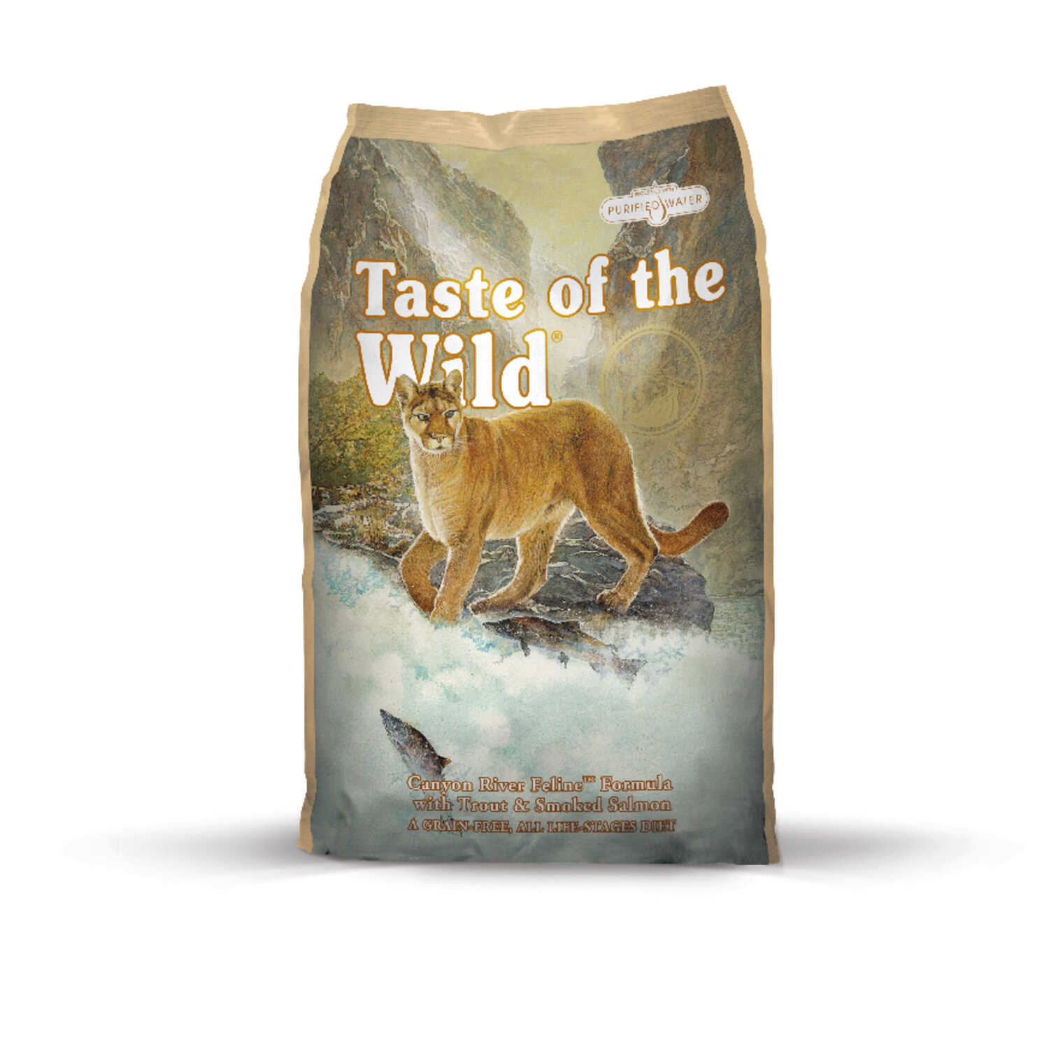 Taste of the Wild  Canyon River  Trout and Salmon  Dry  Cat  Food  Grain Free 14 lb.