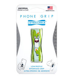 LoveHandle  Multicolored  Party Llama  Phone Grip  For All Mobile Devices