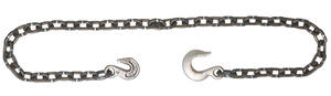 Campbell Chain  3/8 in. Single Jack  Carbon Steel  Log Chain Assembly  3/8 in. Dia. x 14 ft. L