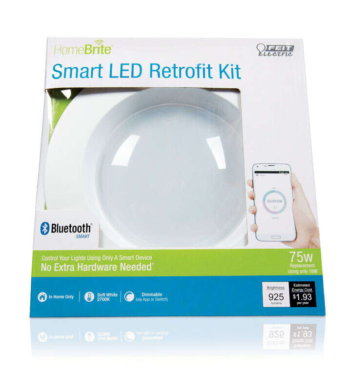 FEIT Electric  HomeBrite Smart  14 watts Retrofit Kit