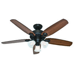 Hunter Fan  Builder Plus  52 in. New Bronze  Indoor  Ceiling Fan