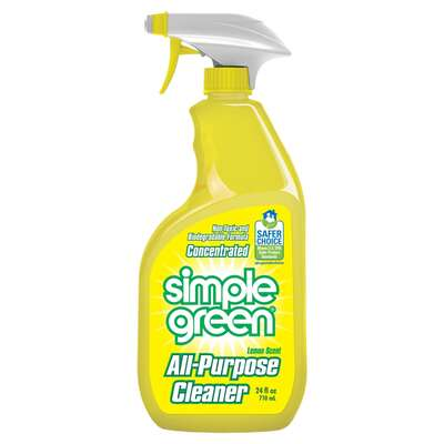 Simple Green  Lemon Scent Concentrated All Purpose Cleaner  Liquid  24 oz.