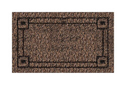 GrassWorx  Brown  Polyethylene  Nonslip Door Mat  30 in. L x 18 in. W