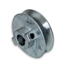 Chicago Die Cast Single V Grooved Pulley A 4 in. x 3/4 in. Bulk