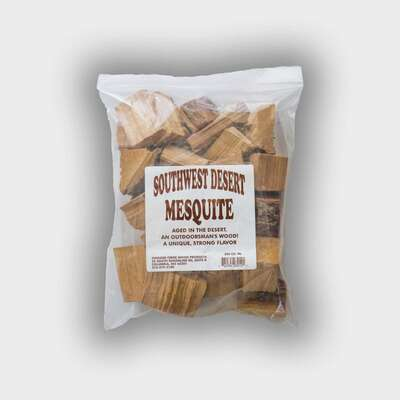 Chigger Creek Sweet N Smoky All Natural Southwest Desert Mesquite Wood Smoking Chunks 300 cu. in