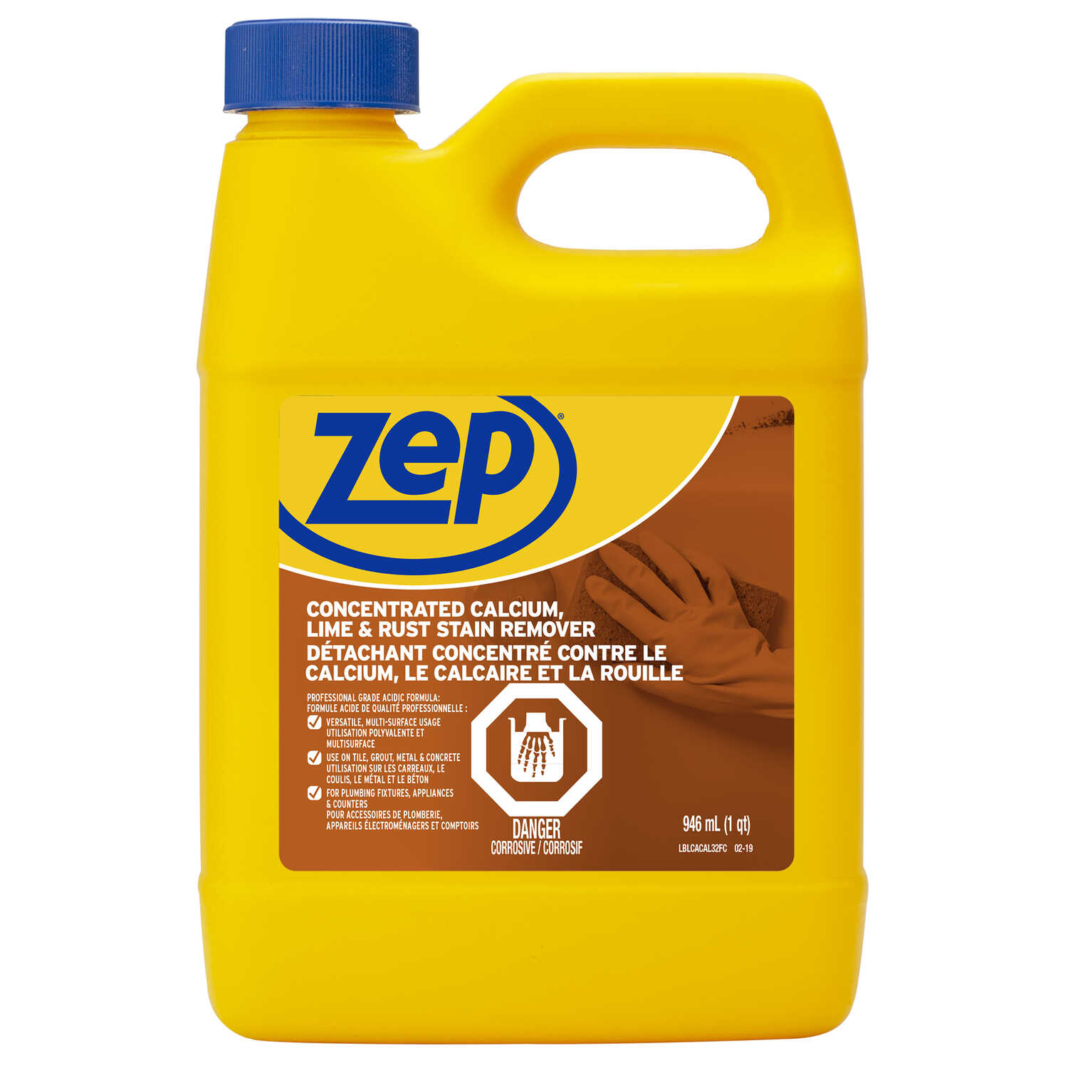 Zep 32 oz. Calcium, Lime and Rust Remover - Ace Hardware
