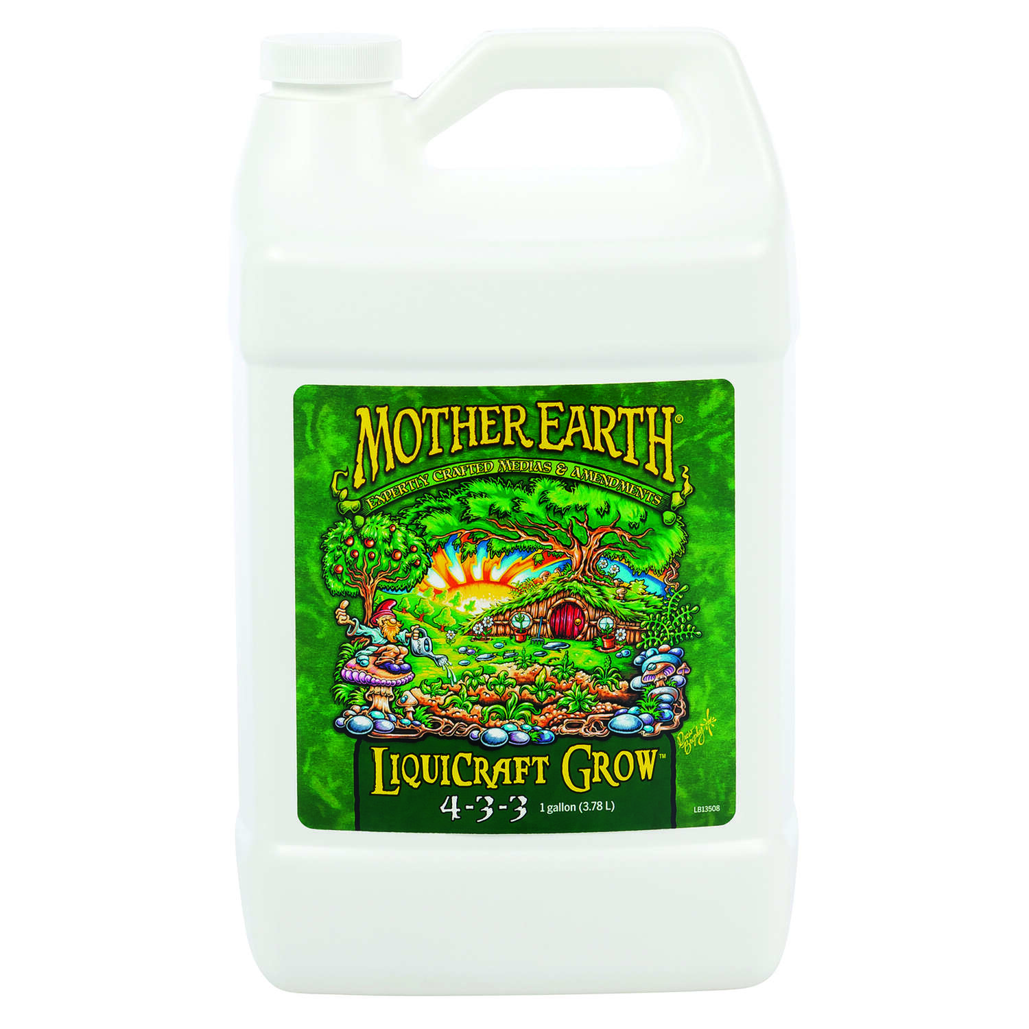 Mother Earth  LiquiCraft Grow 4-3-3  Hydroponic Plant Nutrients  1 gal.