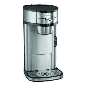 Hamilton Beach  1 cups Silver  Coffee Maker