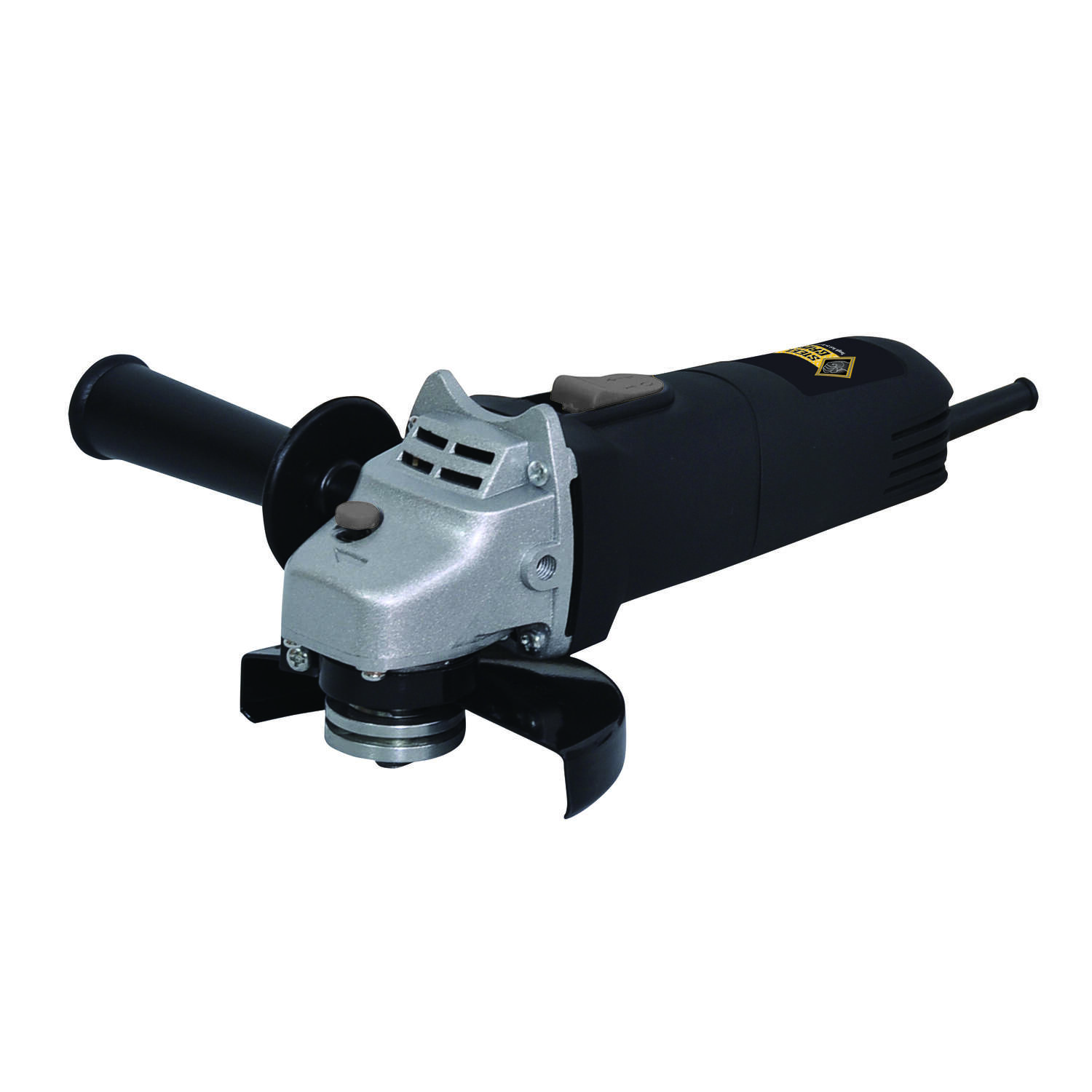 Steel Grip  Corded  5 amps 4-1/2 in. Angle Grinder  12000 rpm