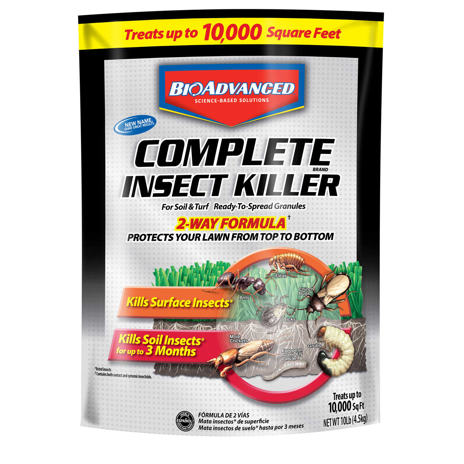 BioAdvanced  Complete  Insect Killer for Lawns  10 lb.